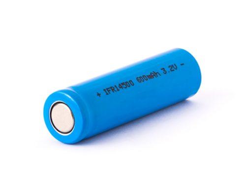 IFR14500-600mAh-3-2V-LiFePo4-Lithium-Eisenphosphat